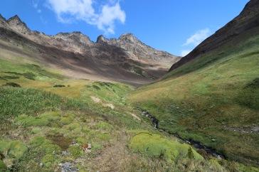 Vallée entre terre et ciel