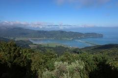 Vue à Abel Tasman