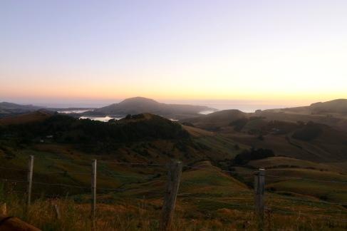 Lever de soleil sur Otago