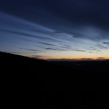 Le ciel à 6h du matin