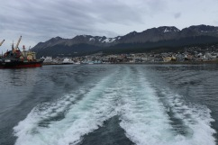 Ushuaia depuis le bateau