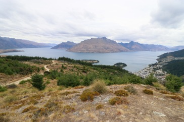 Panorama depuis la colline de Queenstown
