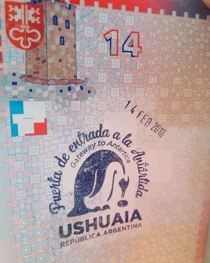 Nouveau tampon dans le passeport