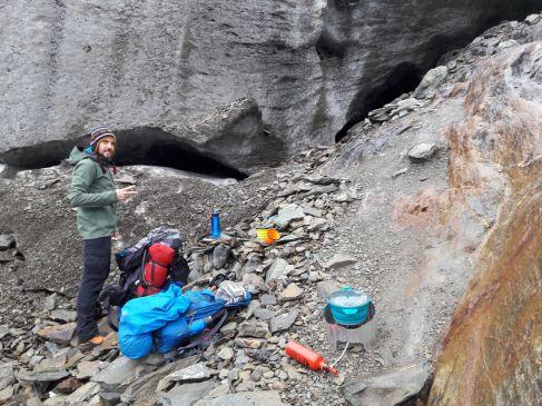 tea time au pied du glacier
