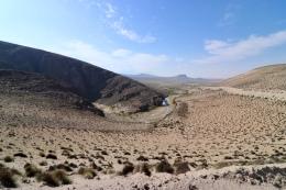 Vallée menant au Salar