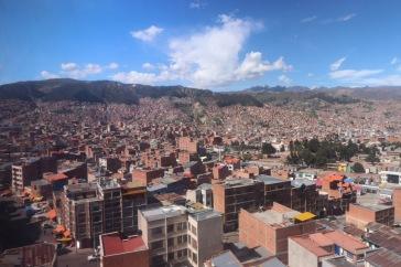 Vue de La Paz