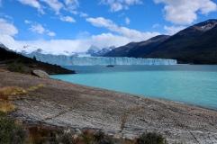 Le Perito Moreno de loin