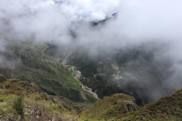 Vallée avec les mines