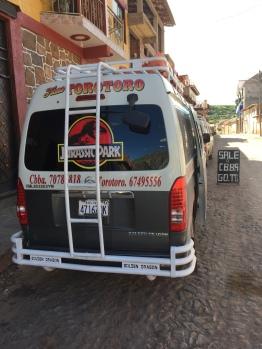 Jurassic Park minibus
