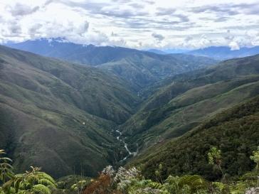 Vallée du Yunga Cruz