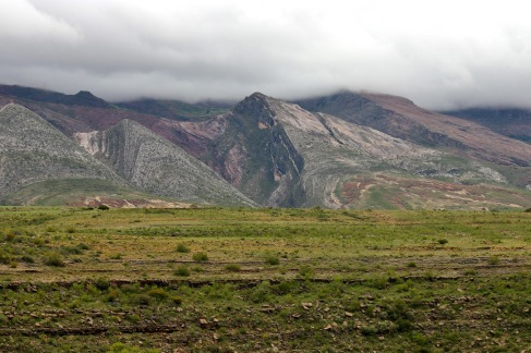 Formation tectonique à Torotoro