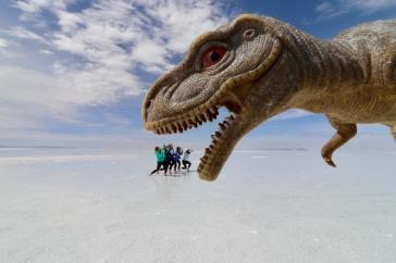 Mangées par un T-rex