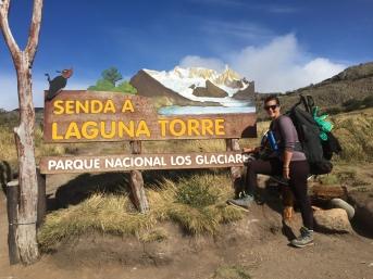 Sentier à Laguna Torre