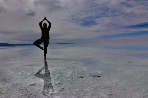 Yoga shadow