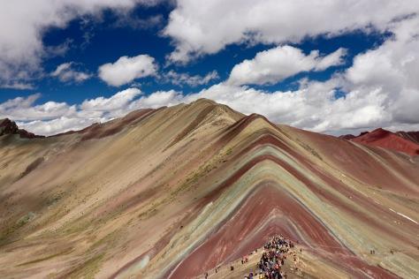 La montagne colorée