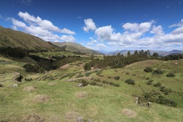 Entre Tambomachay et Cusco