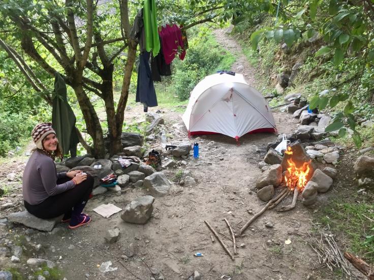 Camping au Rio Blanco