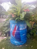 Recycler un bidon d'eau