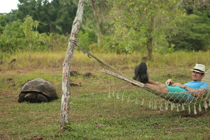Benoit et sa tortue
