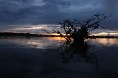 Coucher de soleil Laguna grande