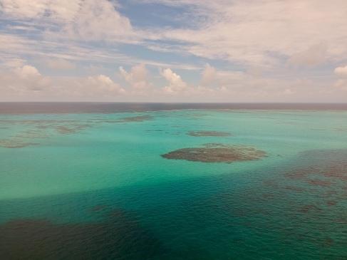 côte de Providencia drone