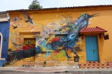 Oiseau graffiti