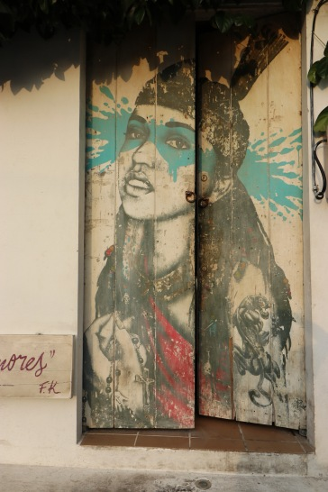 Indienne street art